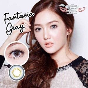 Fantasia series dreamcon softlens Gray