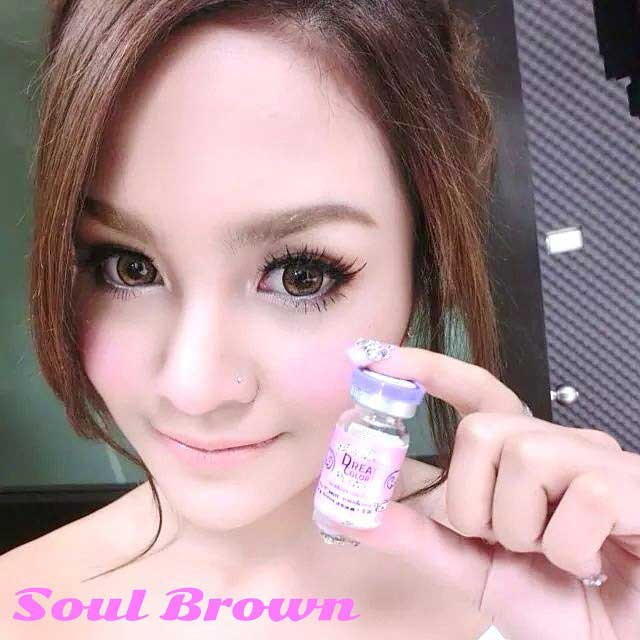 dreamcon soul brown softlens