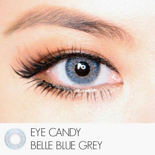 blue-gray eyecandy softlens