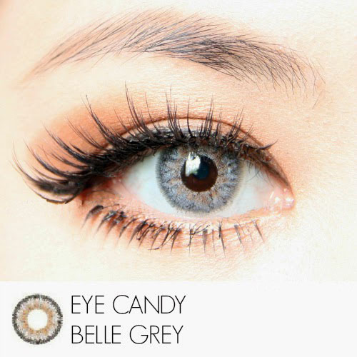 gray eyecandy softlens