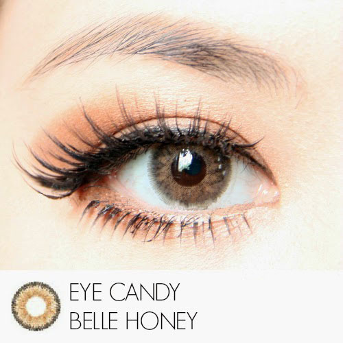 honey eyecandy softlens