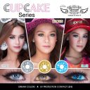 NEW DREAMCON CUPCAKE Softlens Blue