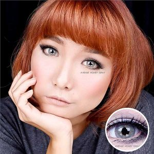 Avenue-honey-grey softlens