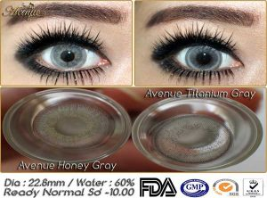 New Avenue Titanium Gray & Honey Gray