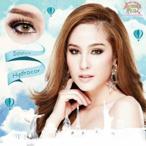 solotica hydrocor brown softlens