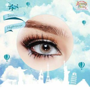 solotica hydrocor grey softlens