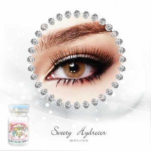 sweety-hydrocor-brown softlens