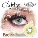ADELINE DREAMCOLOR Softlens Brown
