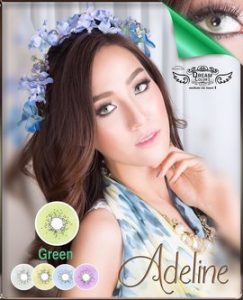 adeline_green_dreamcolor softlens