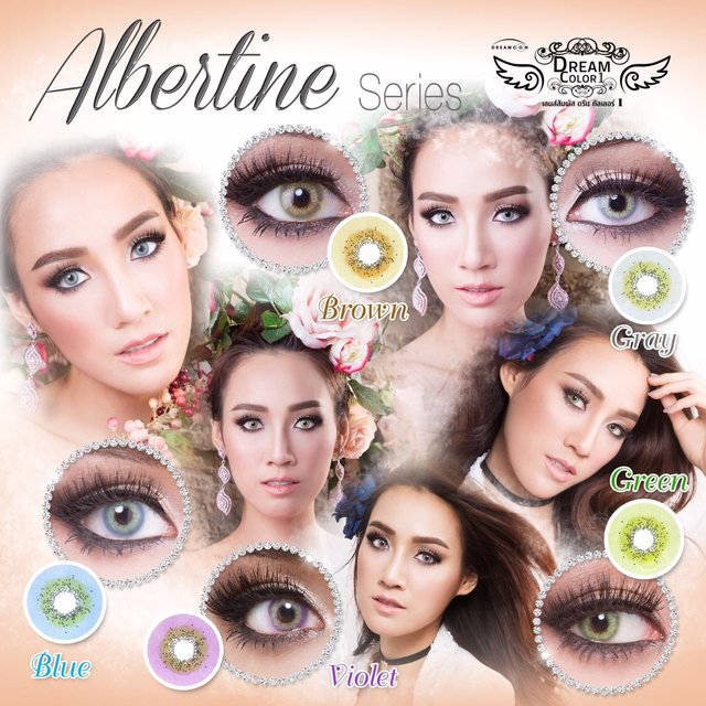 albertine_dreamcolor softlens
