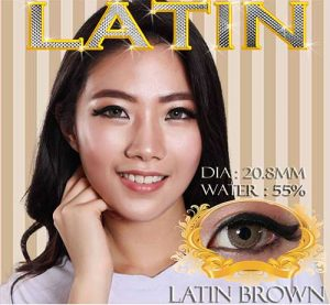 latin-brown softlens
