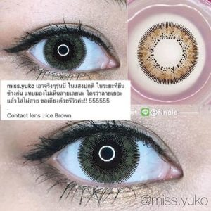 dreamcon Ice Brown Softlens