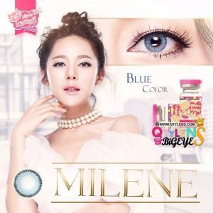 kitty milene_blue softlens