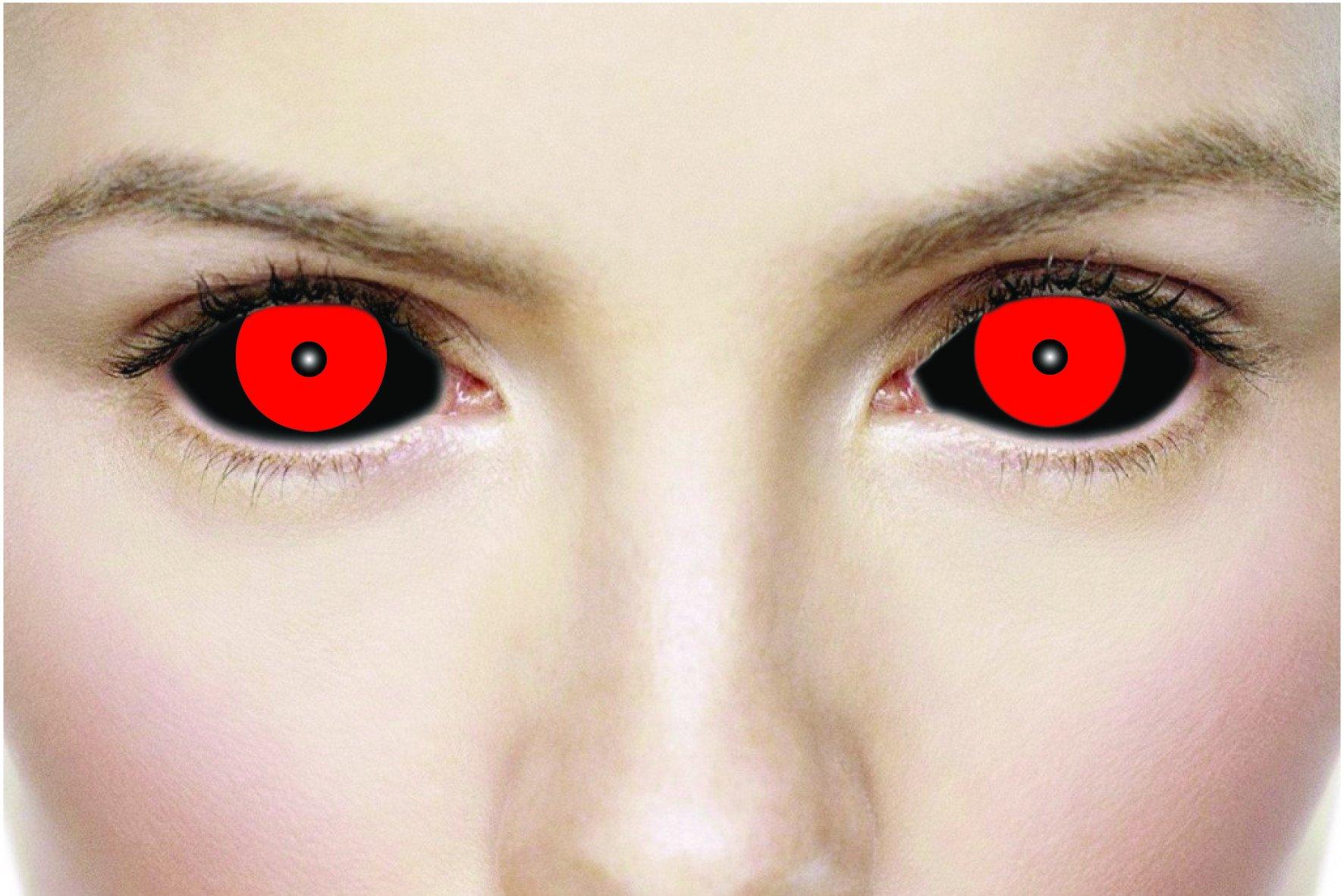 фото глаза с красными зрачками тем, она упускает