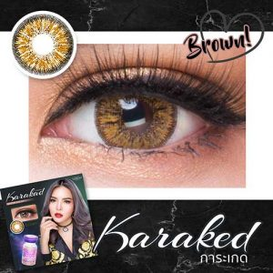 KARAKED-BROWN softlens