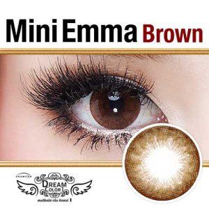 MINI-EMMA-BROWN softlens