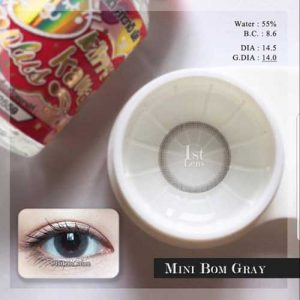 Kitty Kawai Mini-Bom-Gray