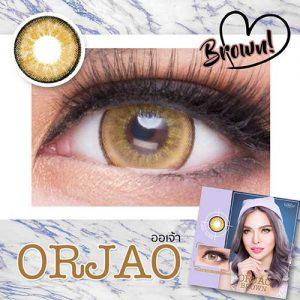 ORJAO-BROWN softlens