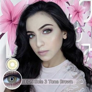 Sole-3-T-brown softlens