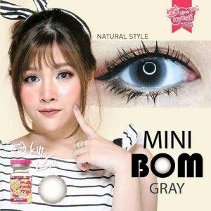 kitty kawaii-Mini-Bom-Gray