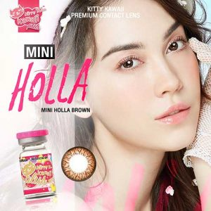 Softlens kityy kawaii-mini-hola-brown