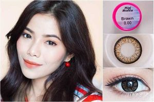 softlens kitty kawaii mini-holla-brown