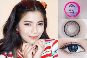 softlens kitty kawaii mini-holla-gray
