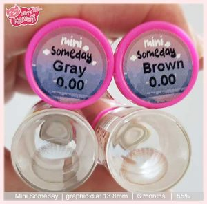 softlens mini-someday-gray-by-kittykawaii