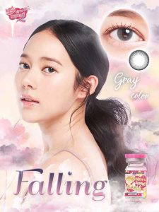 falling-gray-kitty kawaii softlens