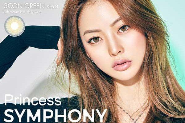 symphony-green-olens softlens