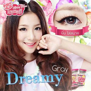 Dreamy_gray kitty kawaii softlens