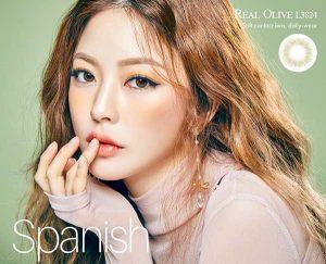 spanish-green princess softlens