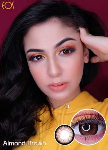 Eos_almond_brown softlens