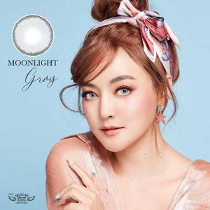 Moonlight-gray softlens