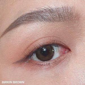 birkin brown kitty kawaii softlens