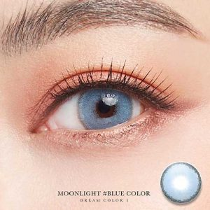 moonlight-blue softlens