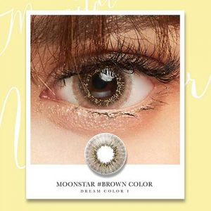 moonstar-brown softlens