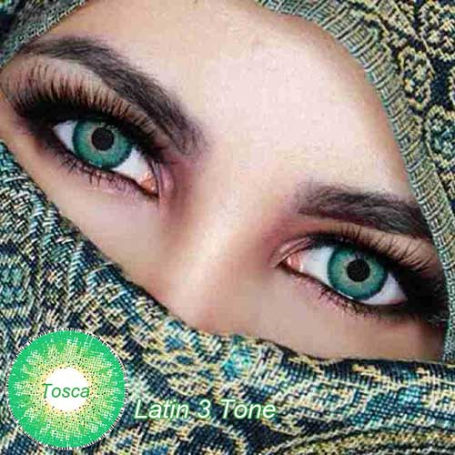 New Latin 3 Tone Softlens